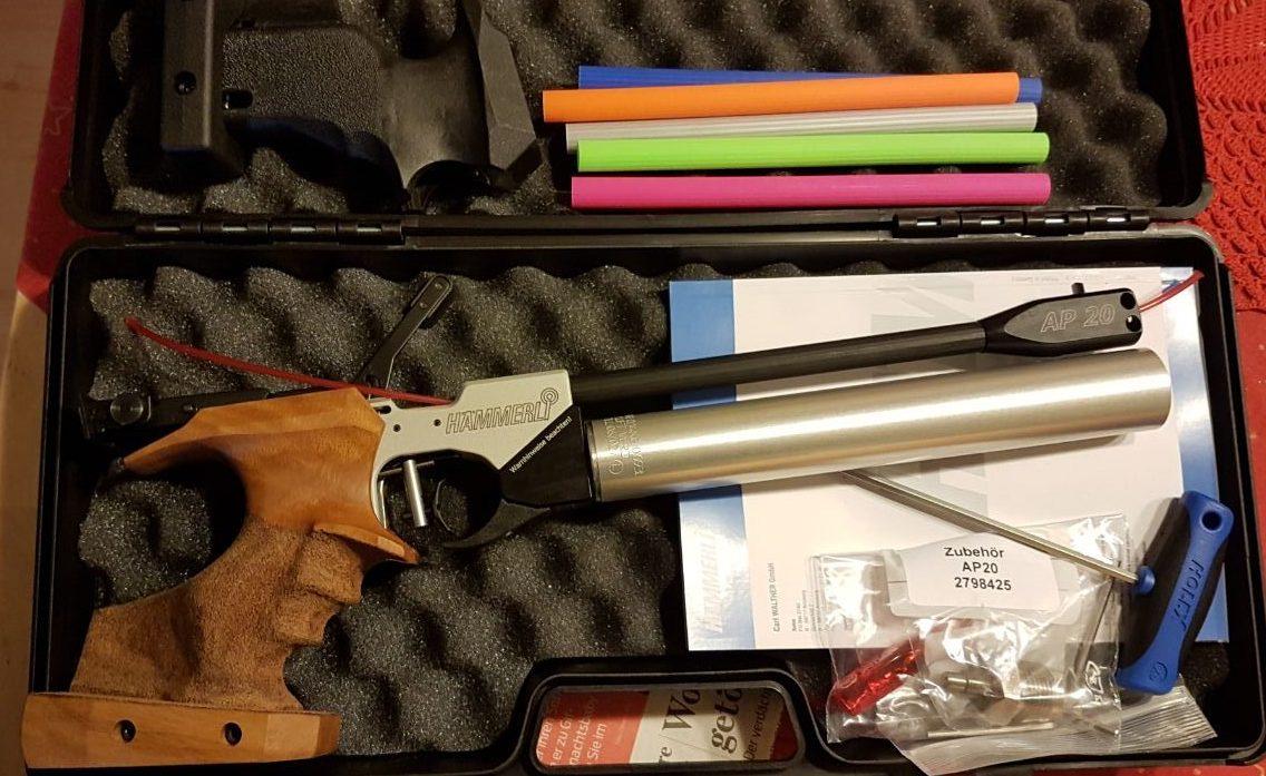 Neue Luftpistole / Pistolentraining – Schützenverein Groß